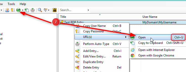Launching RDP from KeePass 2 x with auto-login – Adam's Code Blog
